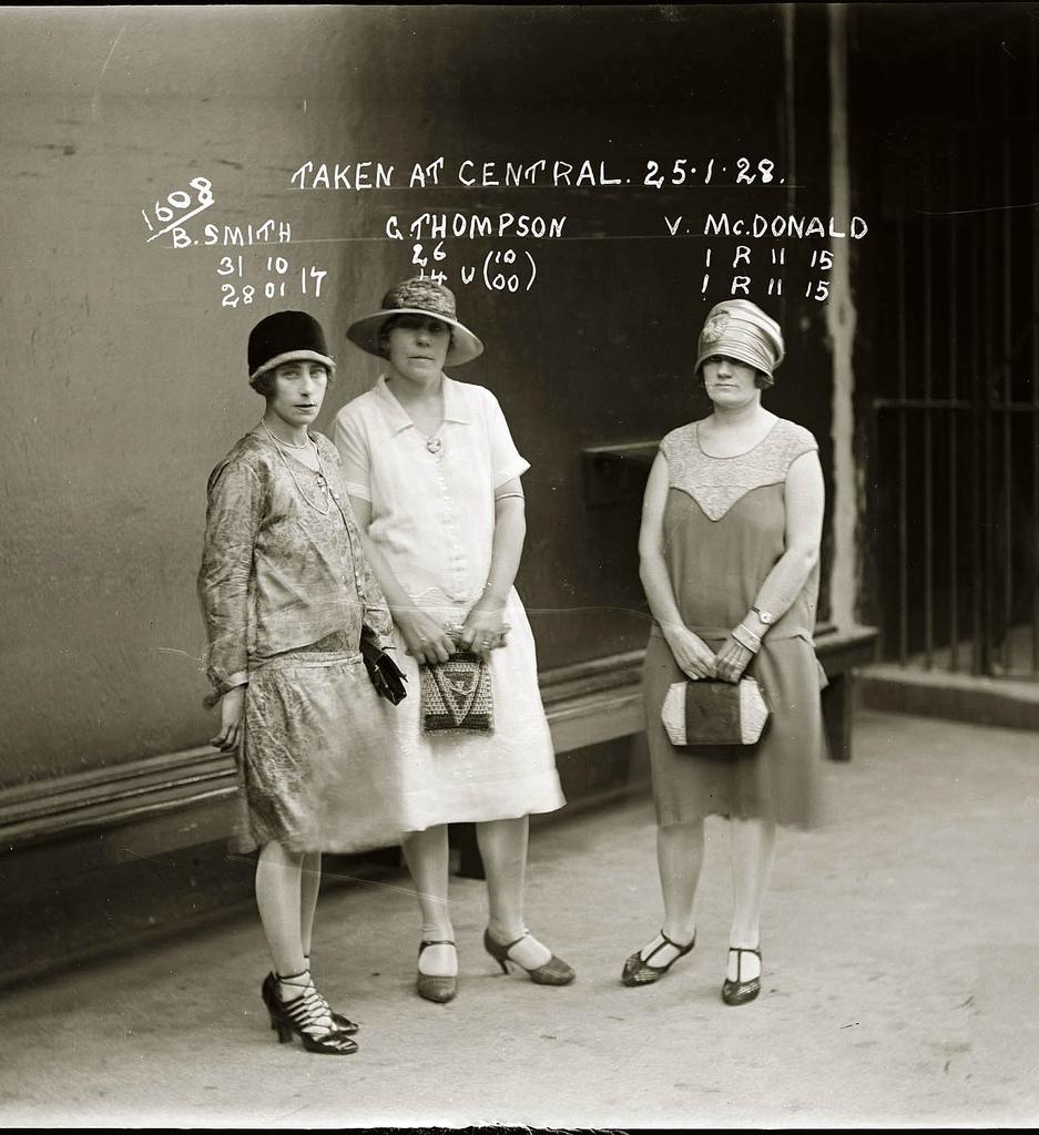 photo police sydney australie mugshot 1920 15 Portraits de criminels australiens dans les années 1920