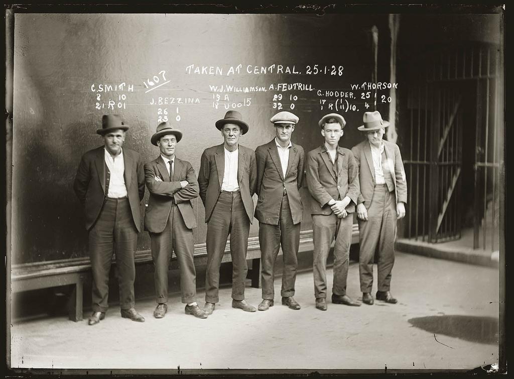 photo police sydney australie mugshot 1920 16 Portraits de criminels australiens dans les années 1920