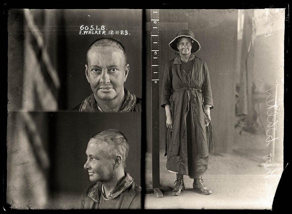 photo police sydney australie mugshot 1920 27 Portraits de criminels australiens dans les années 1920