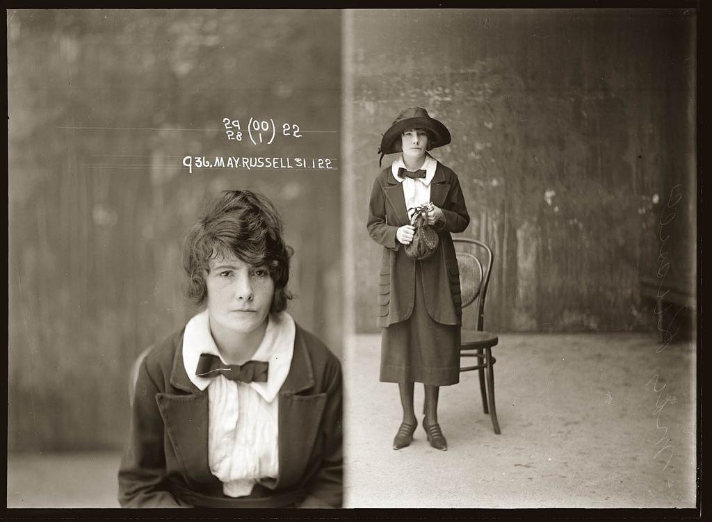photo police sydney australie mugshot 1920 38 Portraits de criminels australiens dans les années 1920