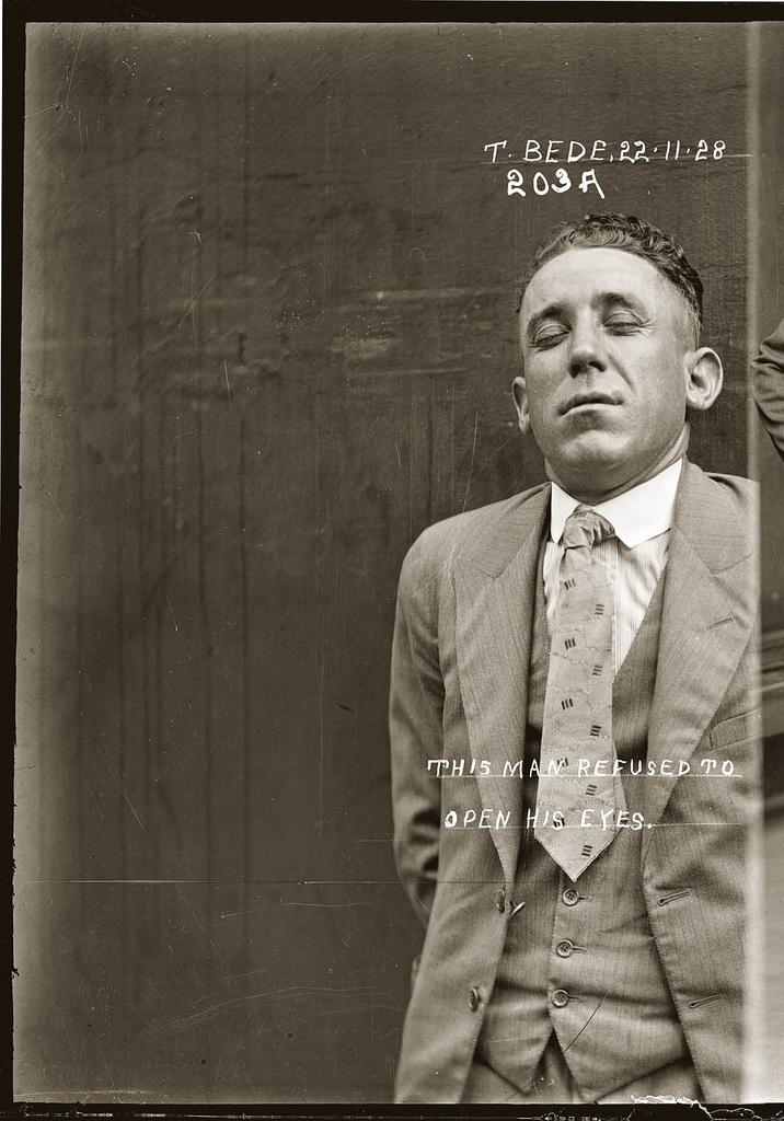 photo police sydney australie mugshot 1920 40 Portraits de criminels australiens dans les années 1920