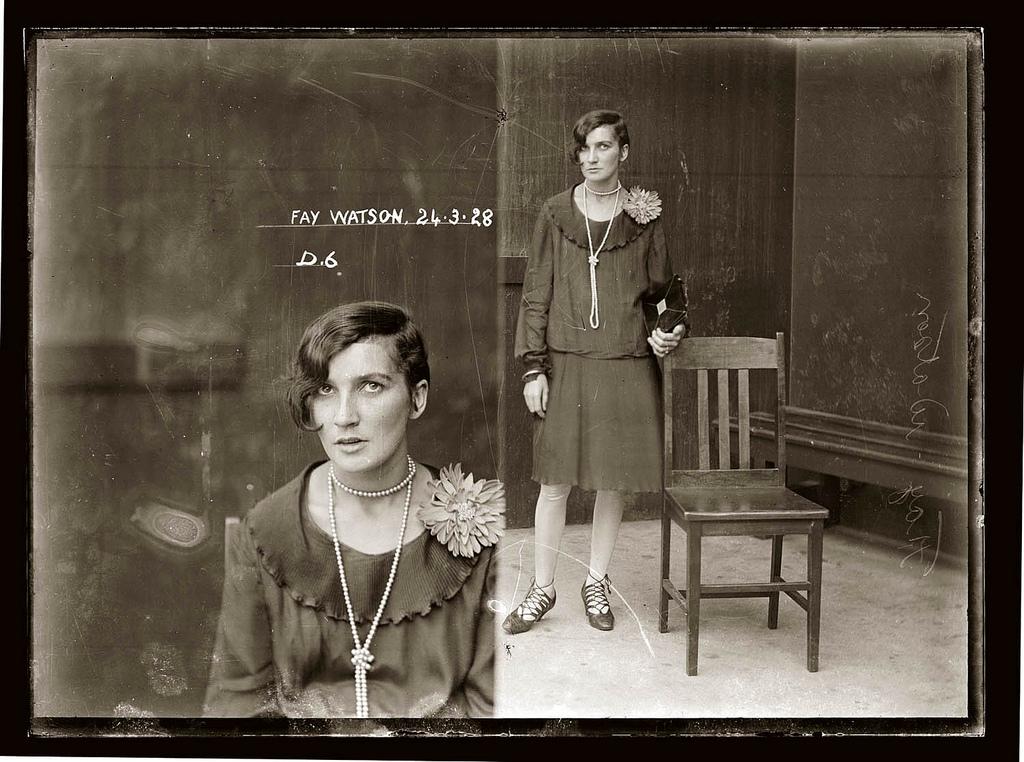 photo police sydney australie mugshot 1920 41 Portraits de criminels australiens dans les années 1920