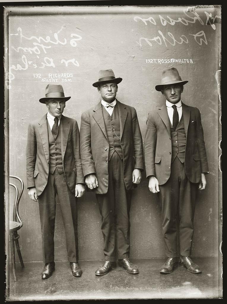 photo police sydney australie mugshot 1920 43 Portraits de criminels australiens dans les années 1920