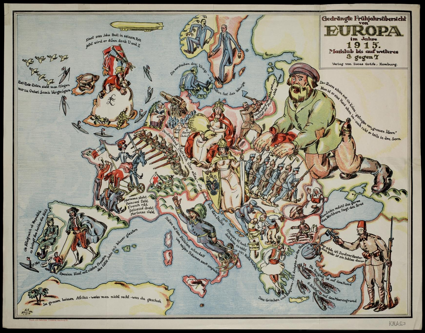 carte satire map caricature 17 Cartes satiriques à travers l'histoire
