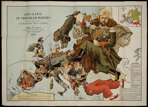 carte satire map caricature 30 Cartes satiriques à travers l'histoire
