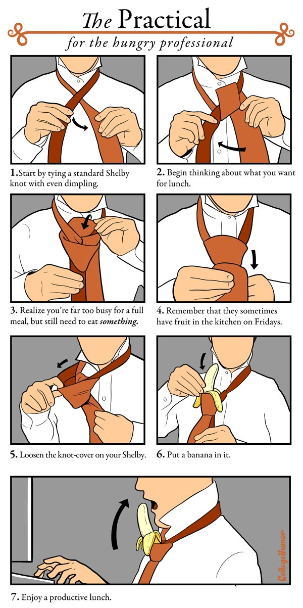 comment faire un noeud de cravate original. Black Bedroom Furniture Sets. Home Design Ideas