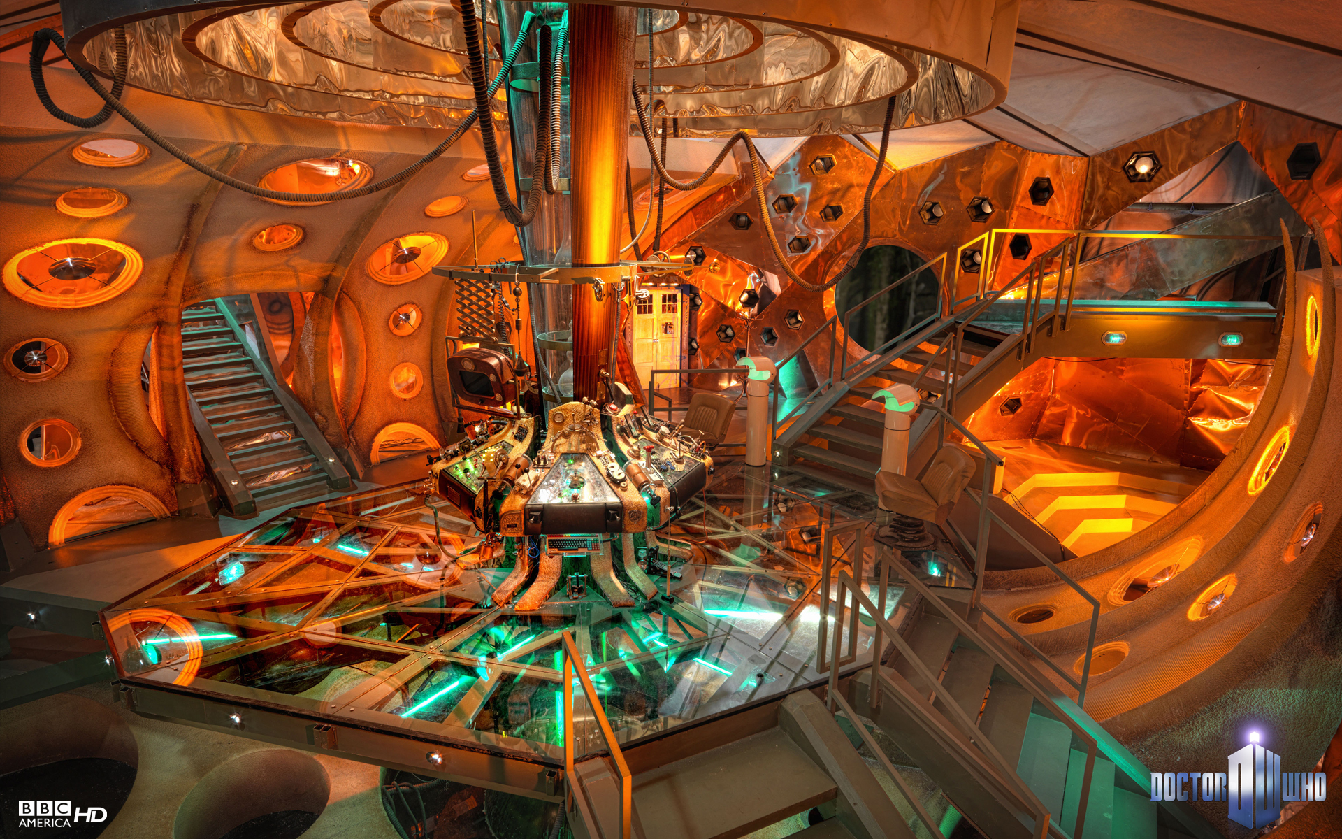 L 39 int rieur du tardis for Inside a l interieur