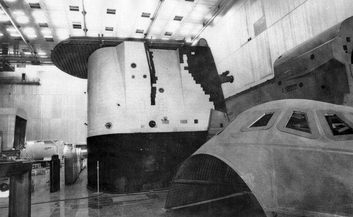 En 2002 l'effondrement du toit du hangar où elle était stockée au