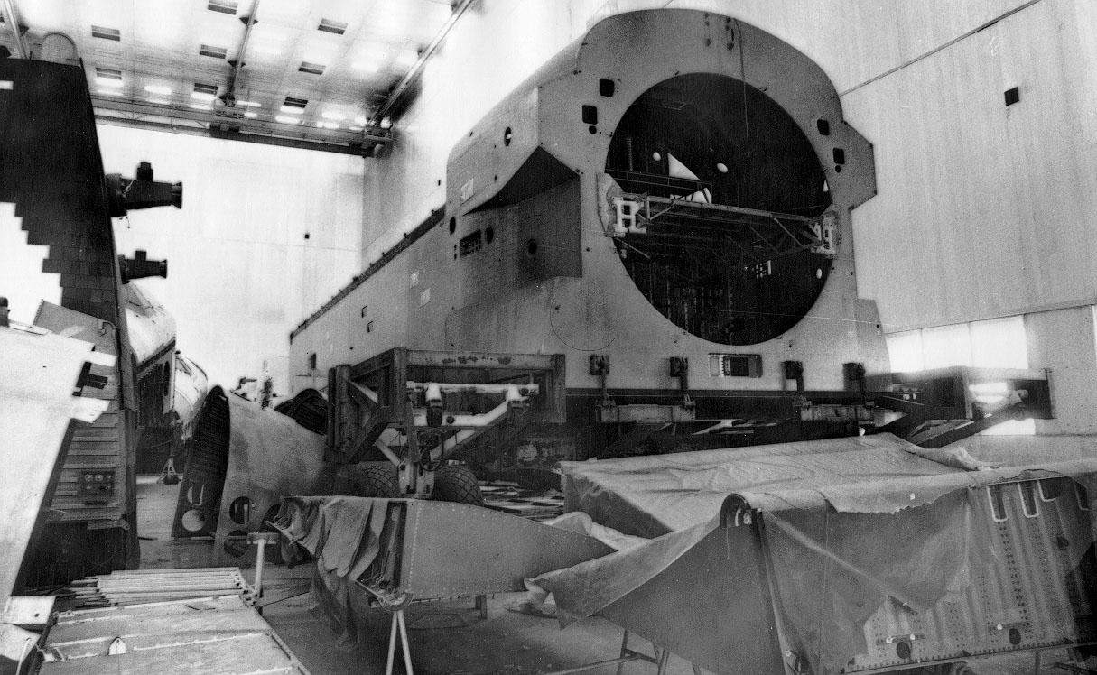 navette spatiale russe buran construction assemblage 06 Buran, la navette spatiale Russe