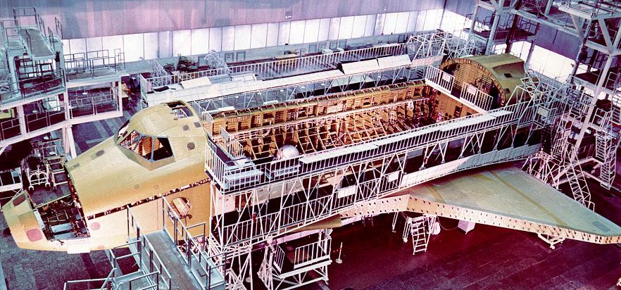 navette spatiale russe buran construction assemblage 09 Buran, la navette spatiale Russe