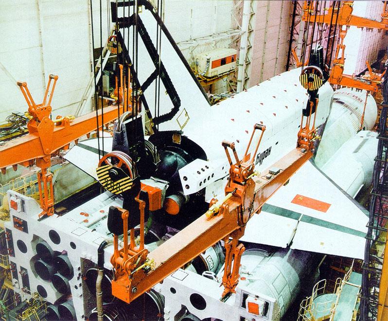 navette spatiale russe buran construction assemblage 10 Buran, la navette spatiale Russe