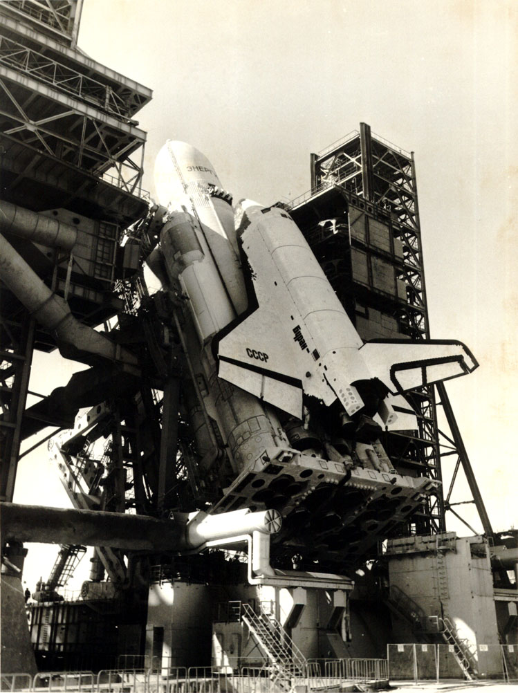 navette spatiale russe buran pas de tir decollage 02 Buran, la navette spatiale Russe
