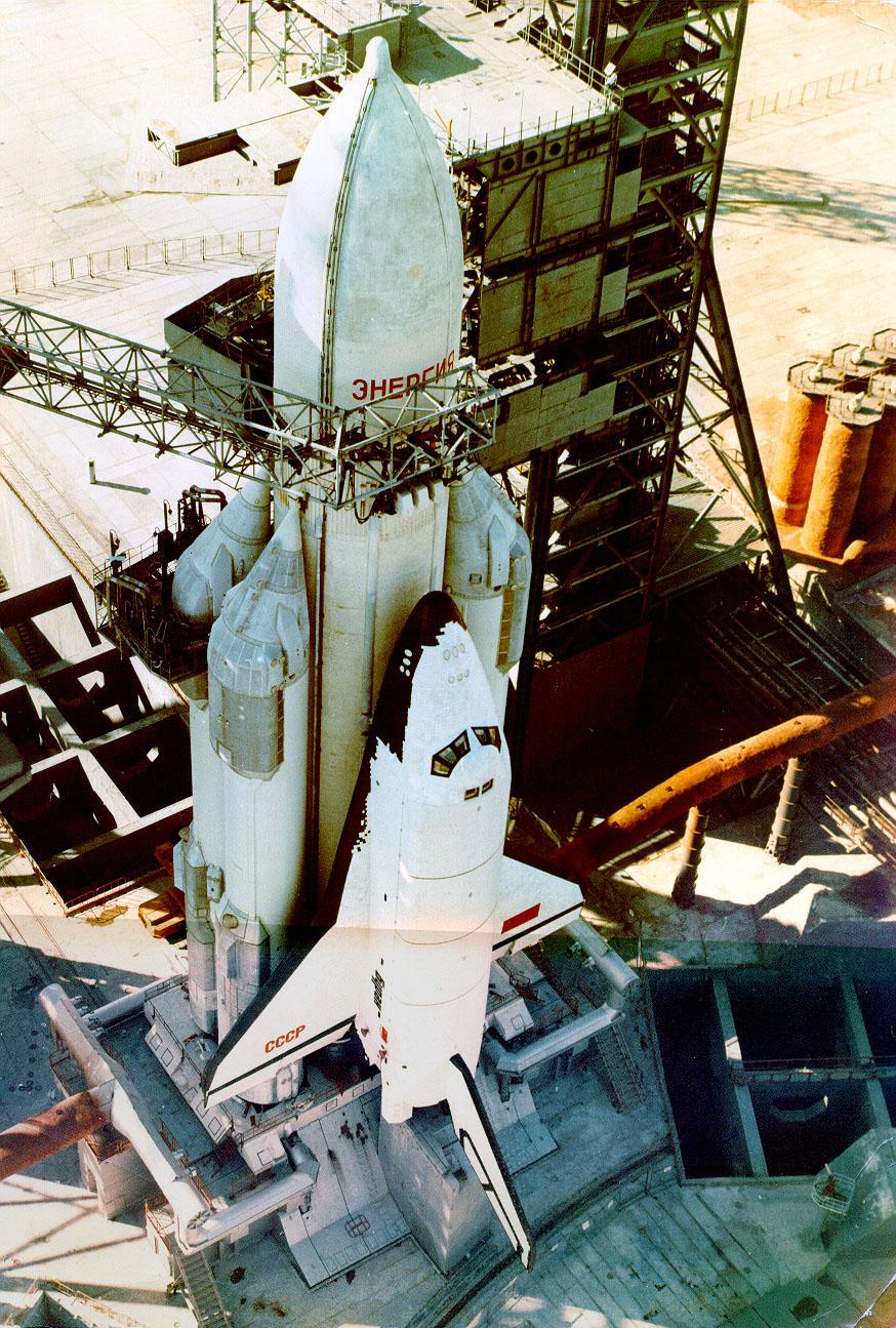 navette spatiale russe buran pas de tir decollage 05 Buran, la navette spatiale Russe
