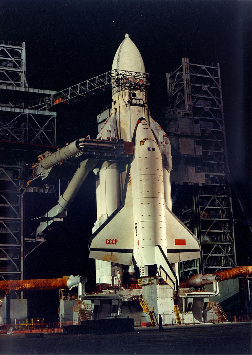 navette spatiale russe buran pas de tir decollage 07 Buran, la navette spatiale Russe
