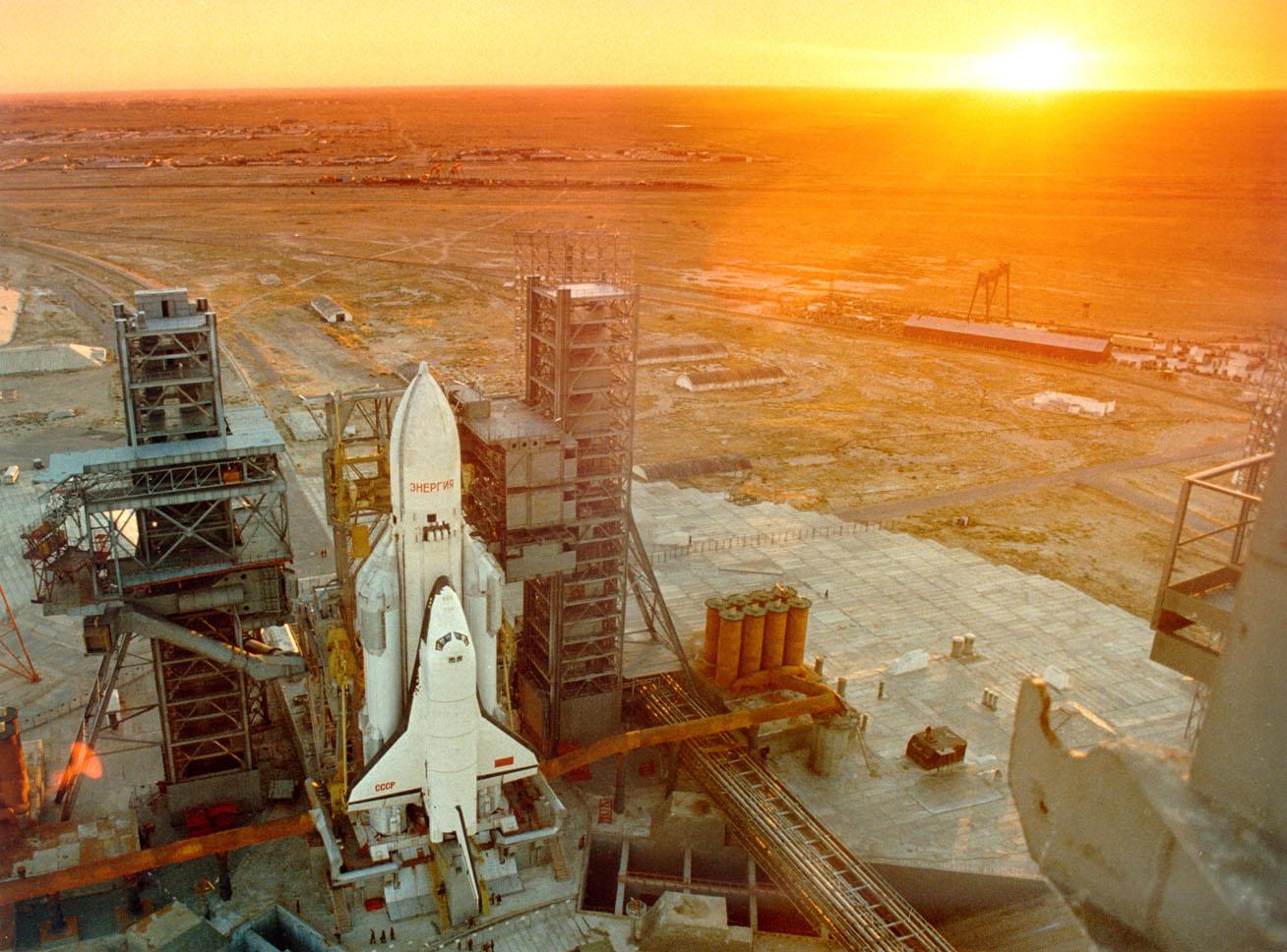 navette spatiale russe buran pas de tir decollage 09 Buran, la navette spatiale Russe