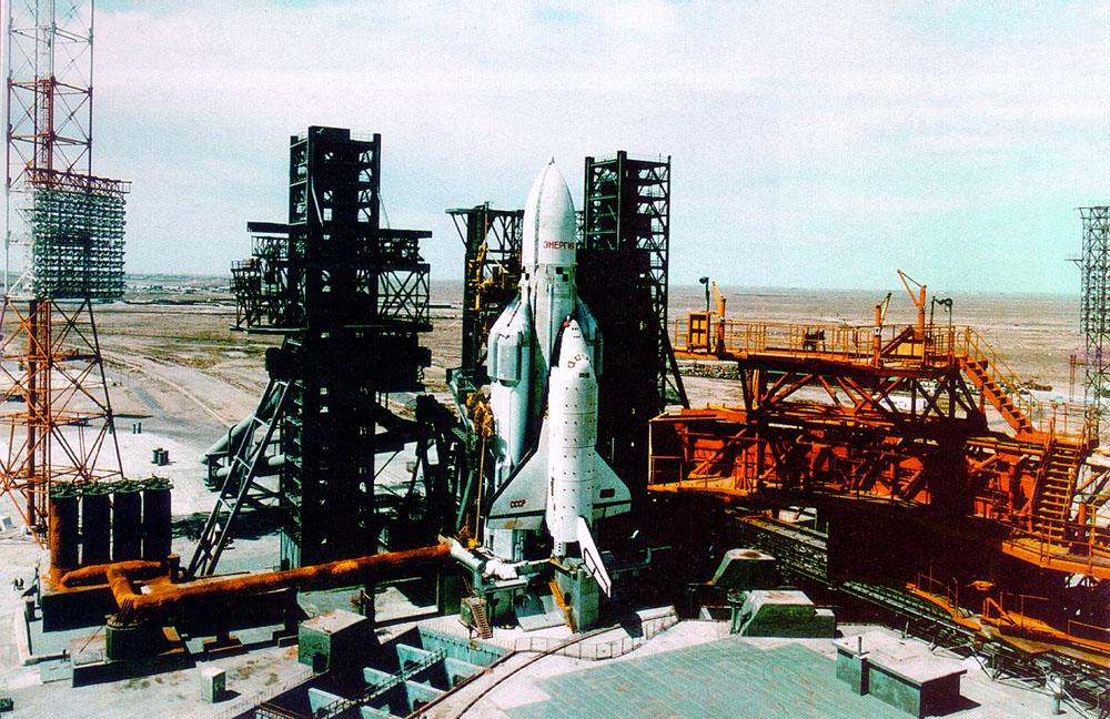 navette spatiale russe buran pas de tir decollage 10 Buran, la navette spatiale Russe
