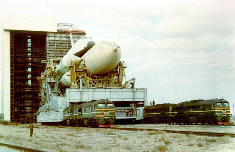navette spatiale russe buran transport 07 Buran, la navette spatiale Russe