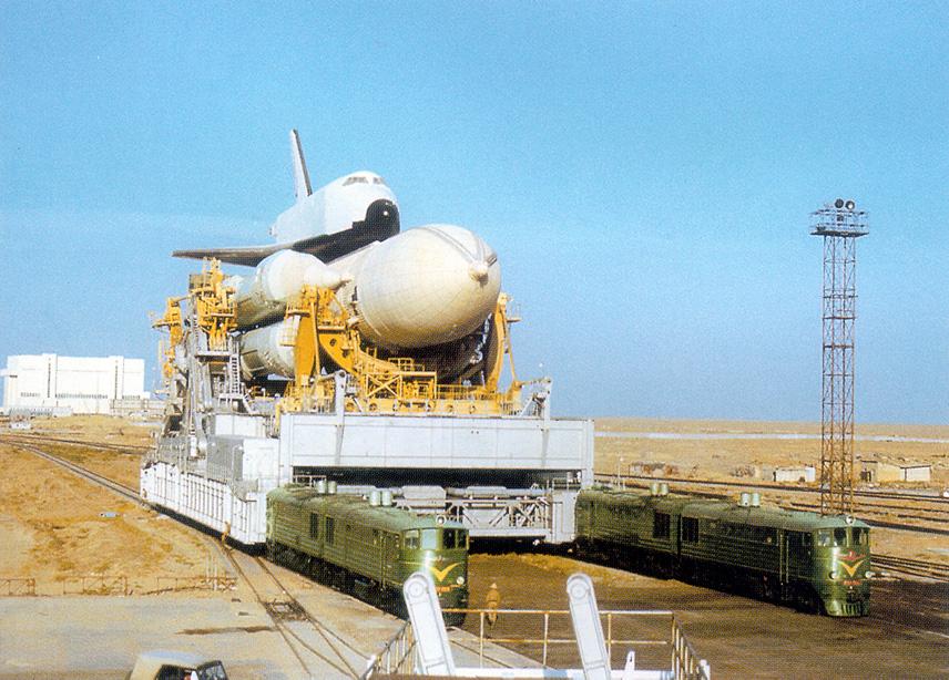 navette spatiale russe buran transport 08 Buran, la navette spatiale Russe