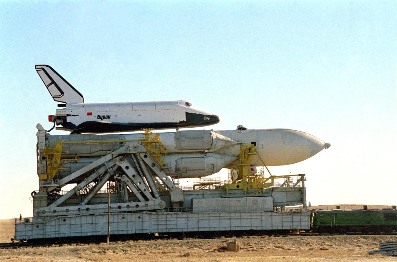 navette spatiale russe buran transport 09 Buran, la navette spatiale Russe