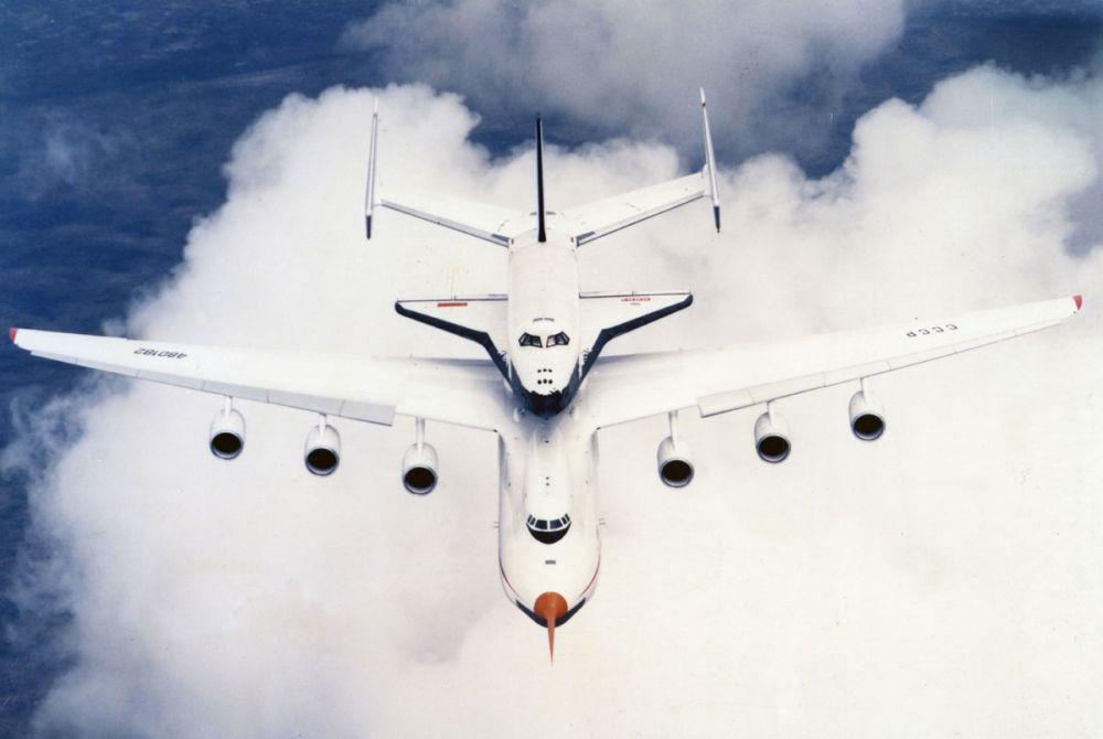 navette spatiale russe buran transport avion 09 Buran, la navette spatiale Russe