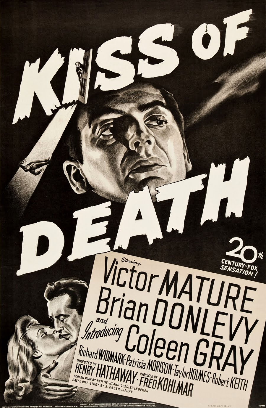 affiche poster film noir cinema 010 102 affiches de films noirs