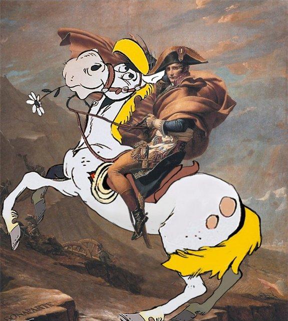 art rencontre dessin anime personnage tableau celebre 10 Tableaux célèbres et personnages de dessin animés