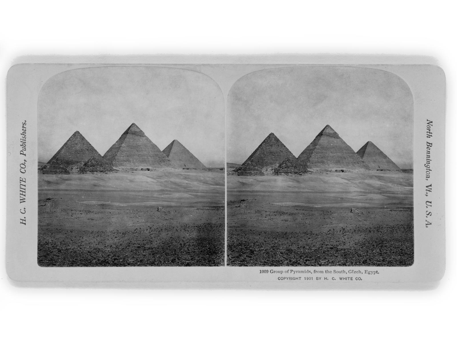 egypte vintage ancien vieille photo pyramide 01 LÉgypte avant les touristes