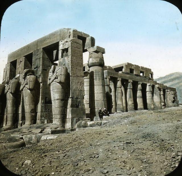 egypte vintage ancien vieille photo pyramide 03 LÉgypte avant les touristes