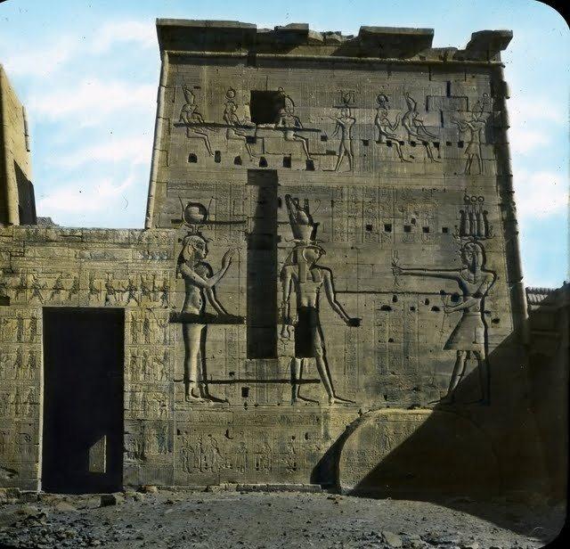 egypte vintage ancien vieille photo pyramide 04 LÉgypte avant les touristes