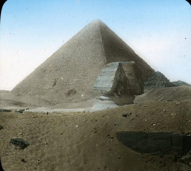 egypte vintage ancien vieille photo pyramide 08 LÉgypte avant les touristes