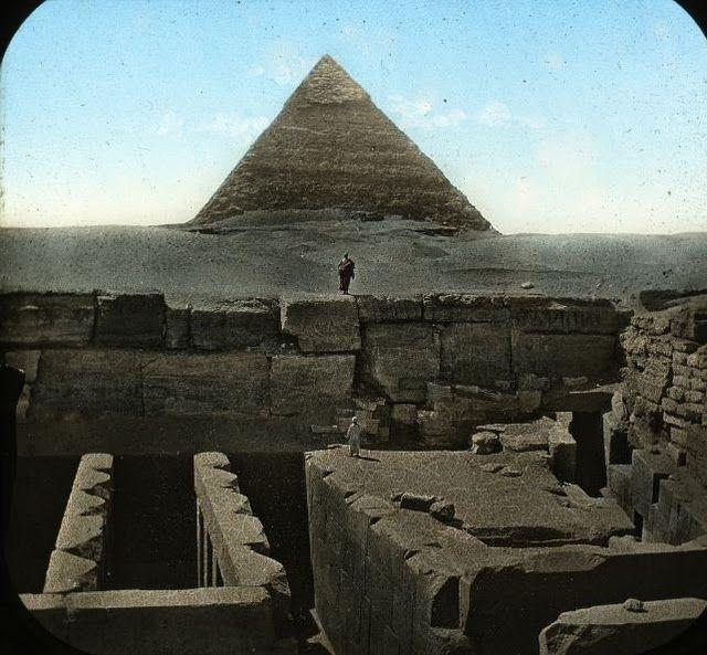 egypte vintage ancien vieille photo pyramide 25 LÉgypte avant les touristes