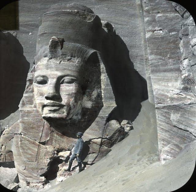 egypte vintage ancien vieille photo pyramide 35 LÉgypte avant les touristes