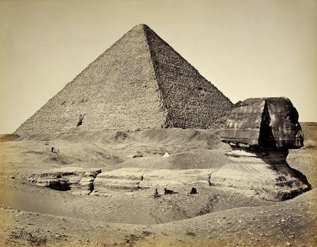 egypte vintage ancien vieille photo pyramide 39 LÉgypte avant les touristes