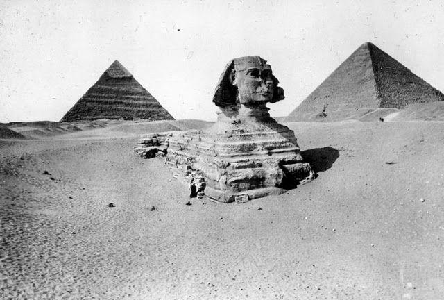 egypte vintage ancien vieille photo pyramide 40 LÉgypte avant les touristes