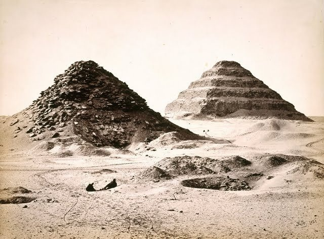 egypte vintage ancien vieille photo pyramide 41 LÉgypte avant les touristes