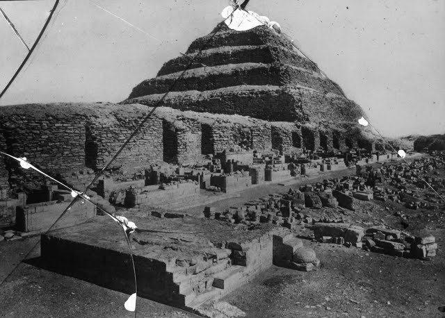 egypte vintage ancien vieille photo pyramide 42 LÉgypte avant les touristes