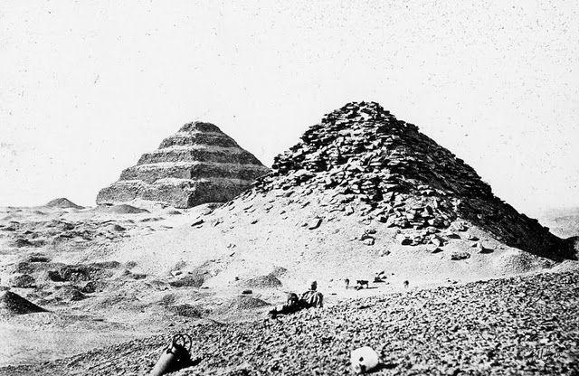 egypte vintage ancien vieille photo pyramide 43 LÉgypte avant les touristes