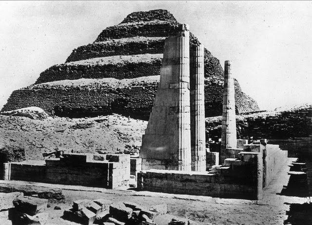 egypte vintage ancien vieille photo pyramide 44 LÉgypte avant les touristes