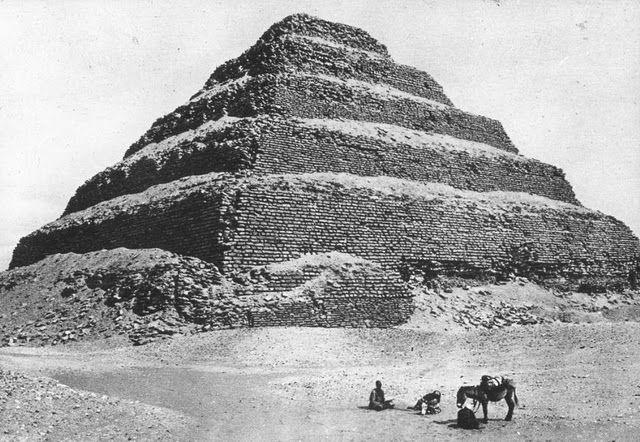 egypte vintage ancien vieille photo pyramide 45 LÉgypte avant les touristes