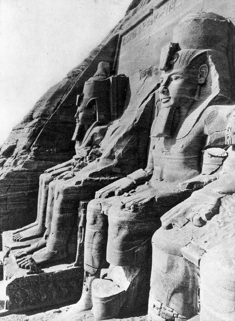 egypte vintage ancien vieille photo pyramide 54 LÉgypte avant les touristes