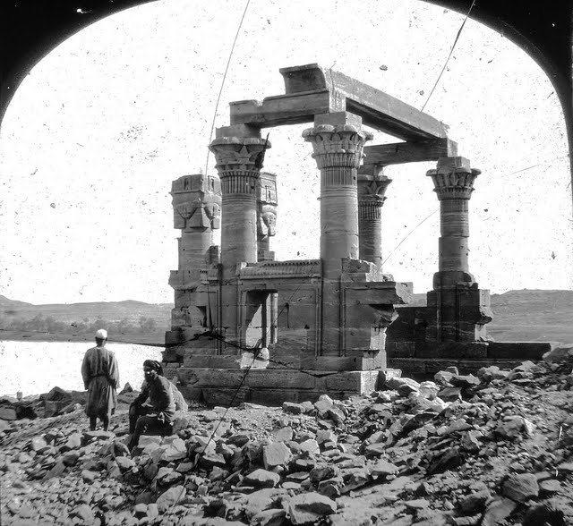 egypte vintage ancien vieille photo pyramide 63 LÉgypte avant les touristes