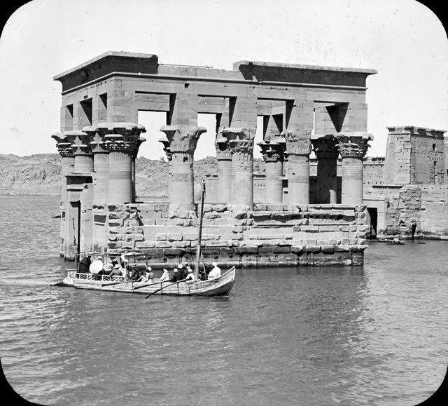 egypte vintage ancien vieille photo pyramide 64 LÉgypte avant les touristes
