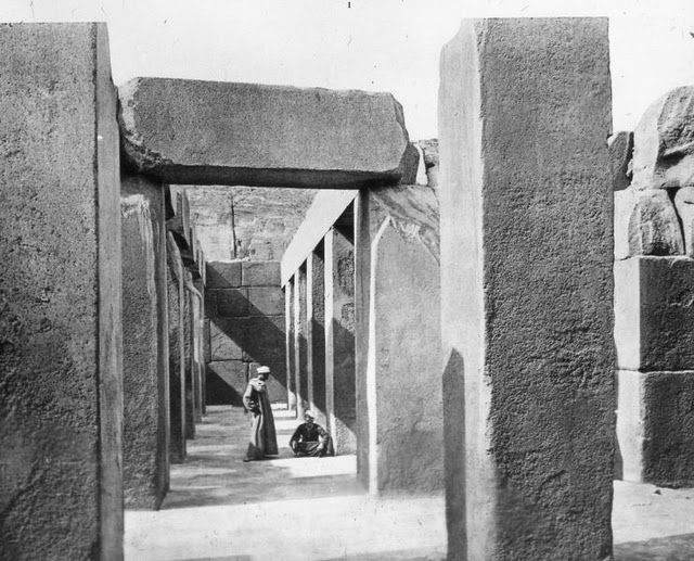 egypte vintage ancien vieille photo pyramide 80 LÉgypte avant les touristes