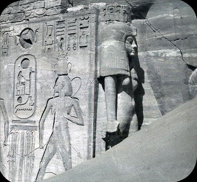 egypte vintage ancien vieille photo pyramide 86 LÉgypte avant les touristes