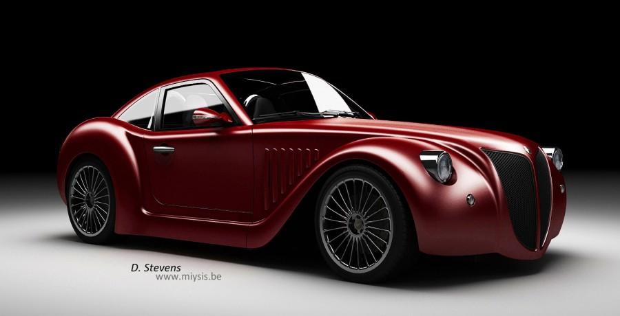 imperia gp une voiture hybride belge. Black Bedroom Furniture Sets. Home Design Ideas