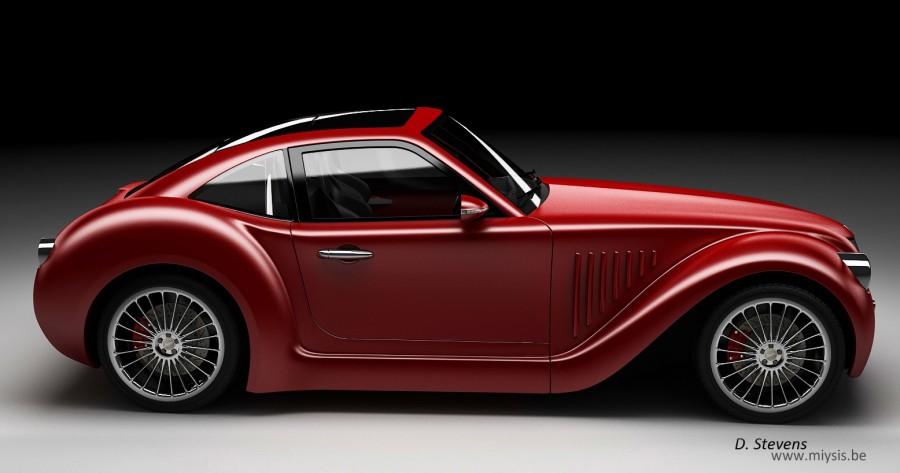 Imperia gp une voiture hybride belge - Image de vehicule ...