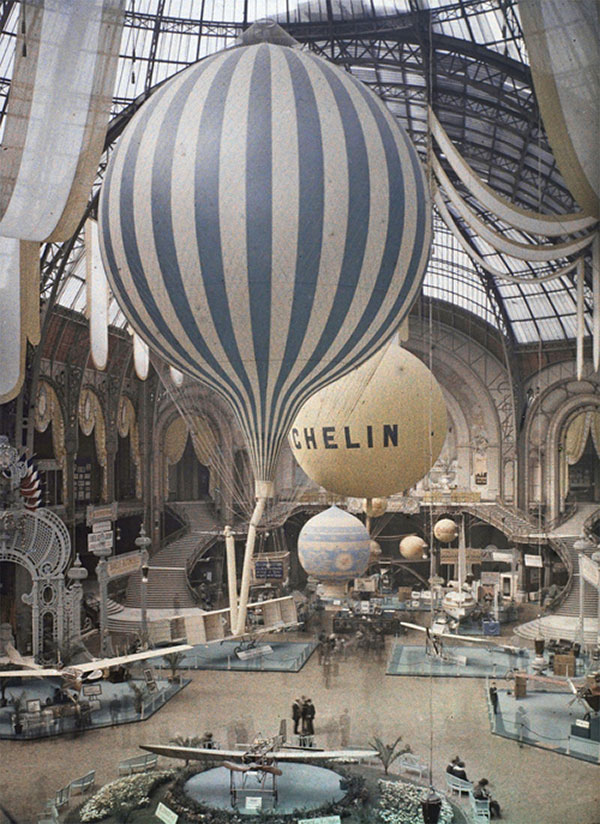leon gimpel 01 Les autochromes parisiens de Léon Gimpel