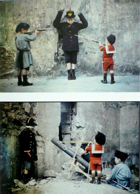 leon gimpel grenata armee enfant autochrome 07 Les autochromes parisiens de Léon Gimpel
