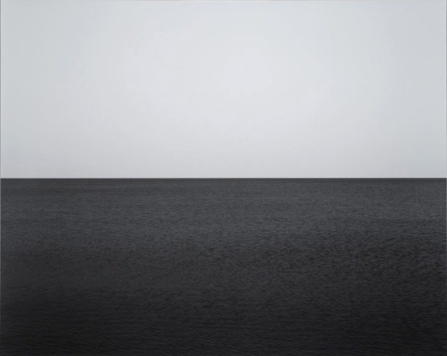 sugimoto seascape baltic sea ruegen 1996 Les paysages marins d'Hiroshi Sugimoto