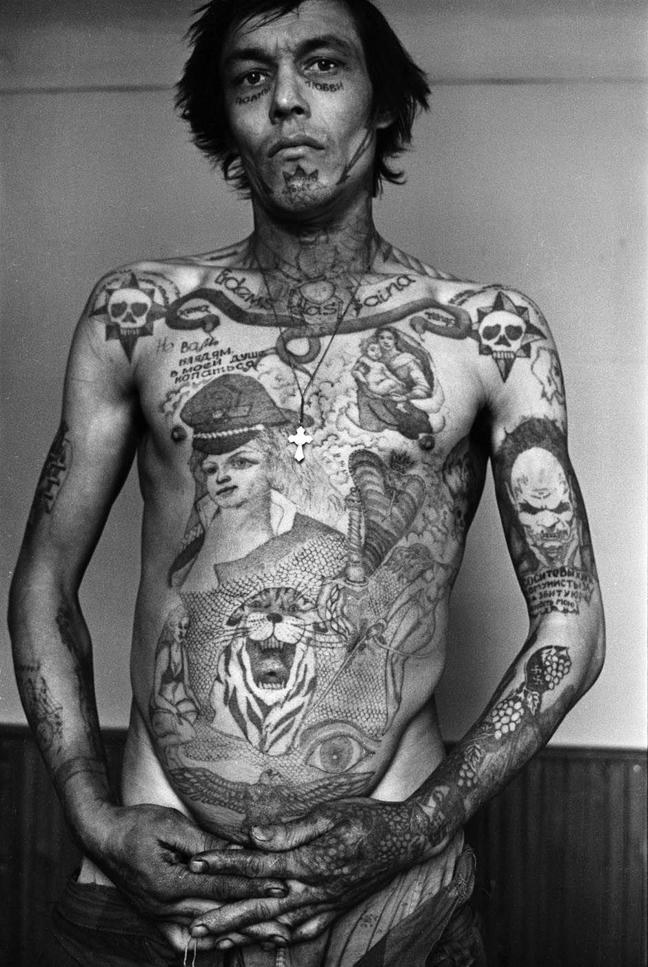 Tatouages de prisonniers russes tatouage encyclopedie criminel russe ...